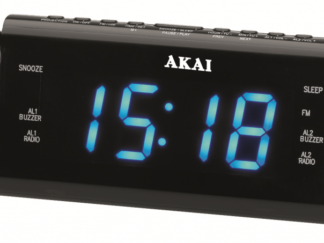 RADIO WITH CLOCK AKAI ACR-3888 with Projection
