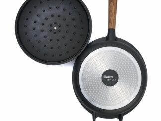 ALUMINUM PAN + CAP, 28x8.5CM, 4.5L, SORIN BONTEA