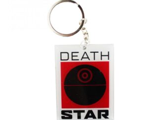 Key Ring metallic STAR WARS DEATH STAR