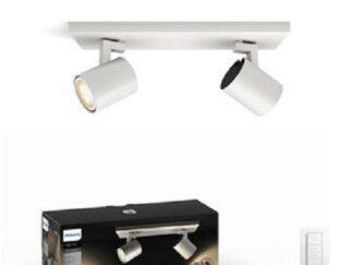 LIGHT SPOT LED PHILIPS HUE RUNNER 2X5.5W