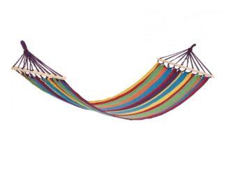 HR hammock BLUE & PURPLE STRIPES 200x80