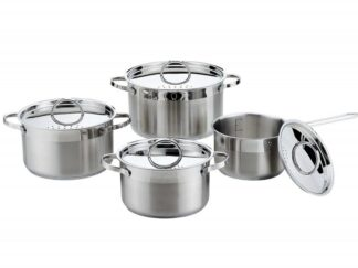 ALEIDA, Cooking Set stainless steel 8 pieces