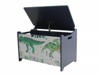 Dinosaur storage bench