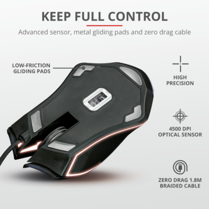 Trust GXT 160X Ture RGB Gaming Mouse