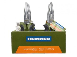 HEINNER PLIERS WITH LONG TOE 160MM