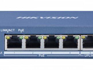 Switch 4 ports 1 UPLINK 35W unmanaged