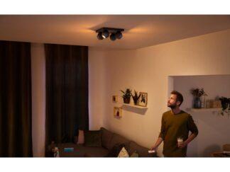 LIGHT SPOT LED PHILIPS HUE BUCKRAM 4X5.5W