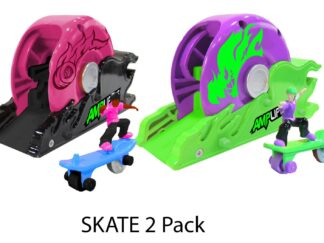 Amplifiers, skateboard and launcher