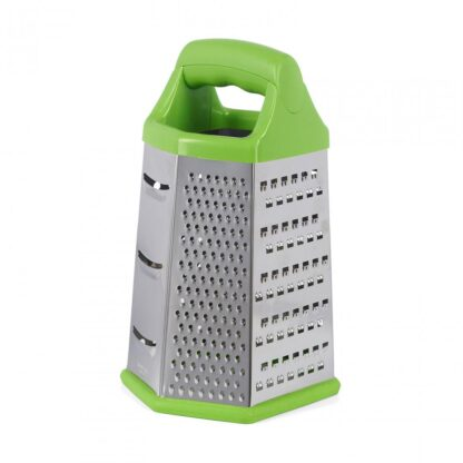 GRATERS 6 SIDES, 14X12X23 CM, GREEN