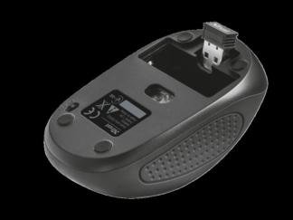 Trust Primo Wireless Mouse - black