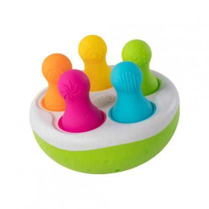 Fat Brain Spinny Pins Sorting Bowl