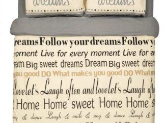 King size Bed Set 4 PCS, Dreams