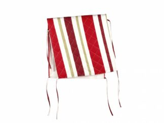 Back Cover Chair 47X100 CM -Red Stripes