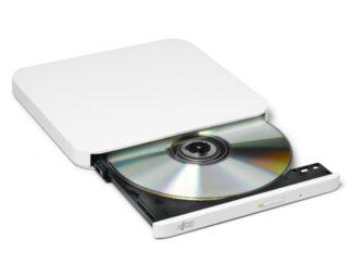 Ultra Slim Portable DVD-R White GP90NW70