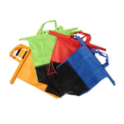 SET OF 4 SHOPPING CART BAGS