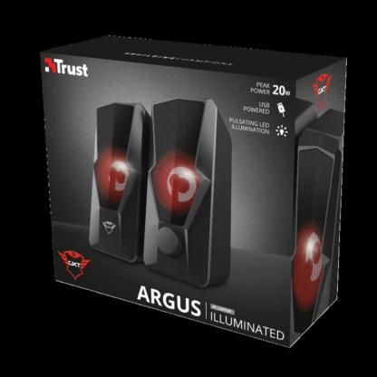 Trust GXT 610 Argus Red LED 2.0 Speaker