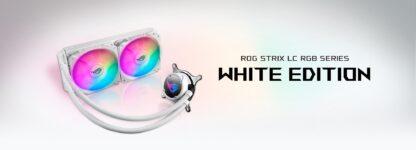 CPU COOLER ASUS ROG STRIX LC 240 RGB Whi