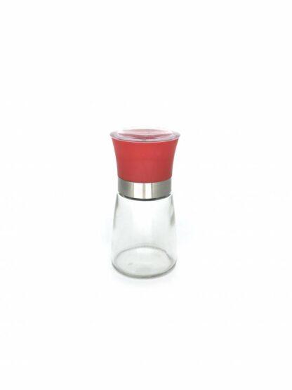 MANUAL SALT & PEPPER GRINDER 13.5CM, RED