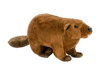 Plush beaver, 24 cm