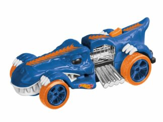 Car with l & s HW, blue T-Rextroyer