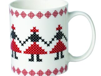 PORCELAIN CUP FIN 310ML, MODEL TRAD. HORA