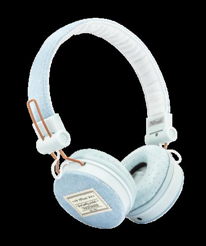Trust Fyber On-Ear Headphones Blue