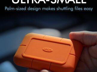 LACIE EXTERNAL SSD 500GB RUGGED TYPE-C