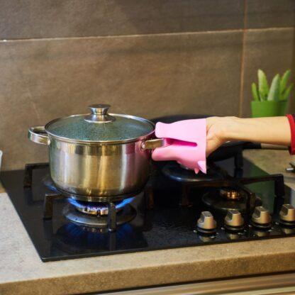 Kitchen glove SILICON,COW