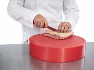 PROFESSIONAL BONE KNIFE 18 CM, RED