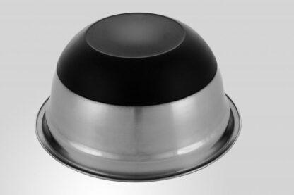 Stainless Steel Bowl satin,non-stick base,22 CM
