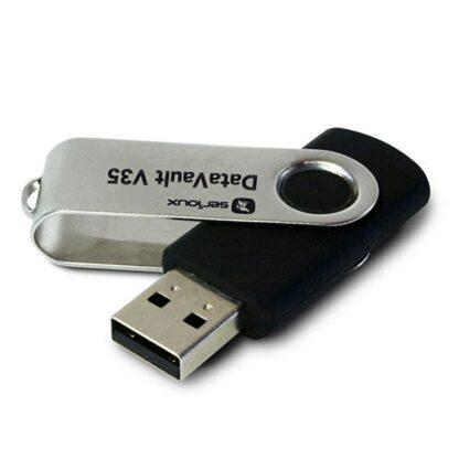 USB 128GB SRX DATAVAULT V35 BLACK USB3.0