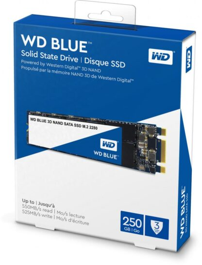 WD SSD 250GB BLUE M.2 SATA3 WDS250G2B0B