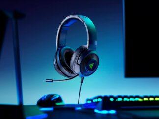 HEADPHONES + MIC GAMING RAZER KRAKEN X USB