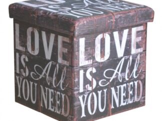 FOLDING STOOL - LOVE