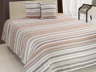 Double bed blanket set 200X220CM brown