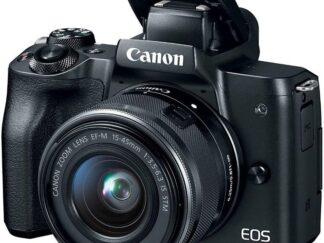 CAMERA EOS M50 BK KIT M15-45 IS STM