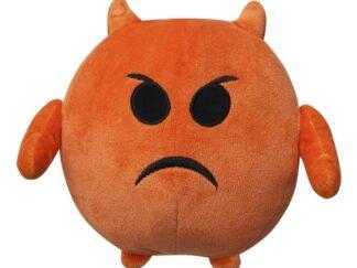 Plush emoticon(ANGRY) 11 CM - ILANIT