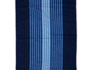 BEACH TOWEL 70X140 CM BLUE STRIPED