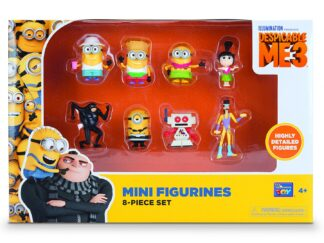 DM3 Set of 8 figurines, 5 CM