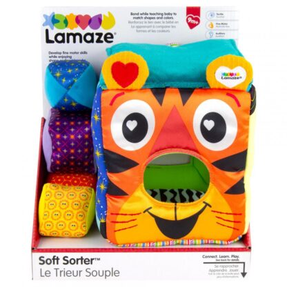Lamaze Sorting toy, colored cube