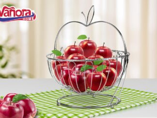 Metal fruit basket with stand, 30x29 CM
