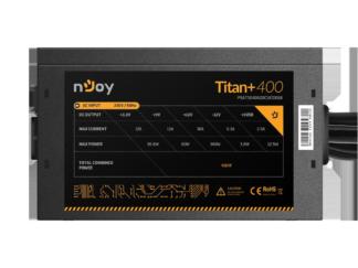 POWER SUPPLY NJOY TITAN + 400 ATX 400W