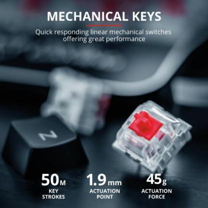 Trust GXT 877 Scar Mechanical G Keyboard