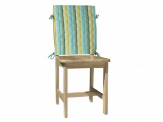 Back Cover Chair 47X100 CM-Green Stripes