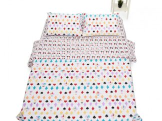 BED LINEN KING BBC 4 PIECES, 144TC- CARDS