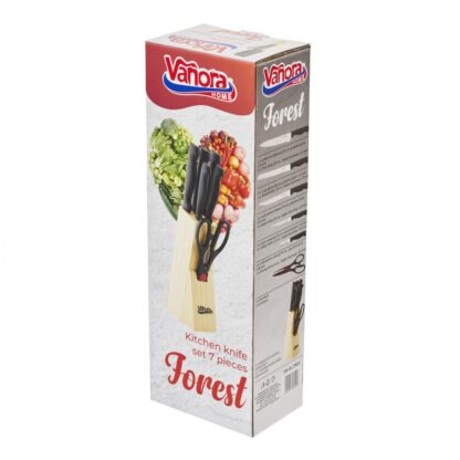 Kitchen Knives Set 7 pieces, FOREST