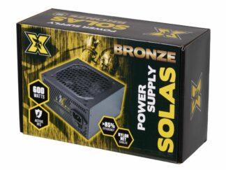 POWER SUPPLY  PC SERIOUS SOLAS BRONZE 600