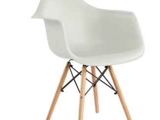 Cozy White dining room chair