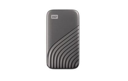 WD EXTERNAL SSD 1TB USB 3.2 MY PASS SSD GRAY