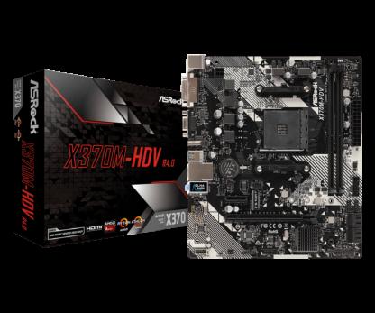 Motherboard Asrock AMD AM4 X370M-HDV R4.0